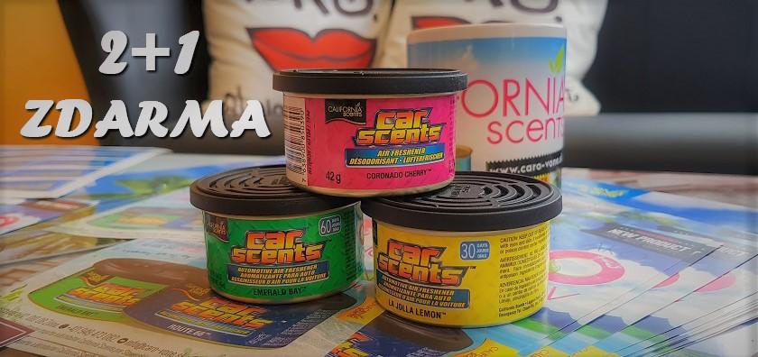 b9acd1a77ec1 California Scents - AKCIA 2+1 Zdarma